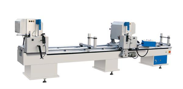 LJZ-450*3700铝门窗双头切割锯床(06型)经济型铝合金切割锯