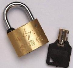 公司专业生产铜挂锁