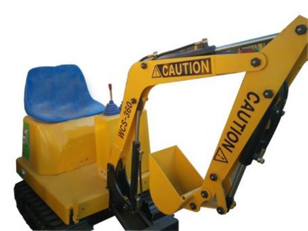 山西太原游乐挖掘机儿童玩具挖掘机儿童挖掘机