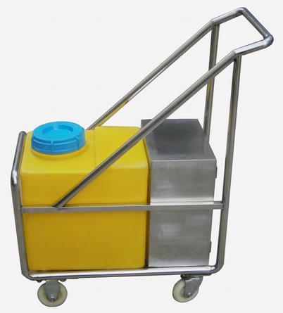 专业供应养殖场手推式电瓶车消毒机