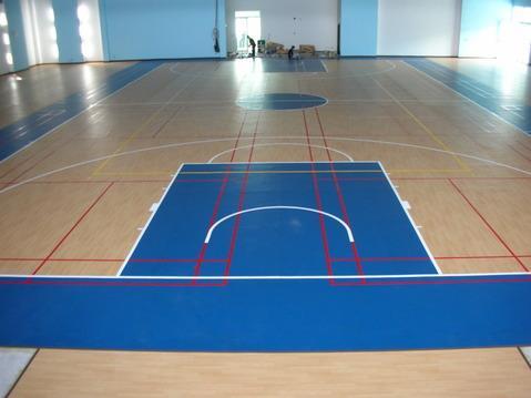 室内pvc篮球场地板