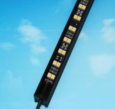 厂家热销5050双排灯珠黑色铝槽硬灯条