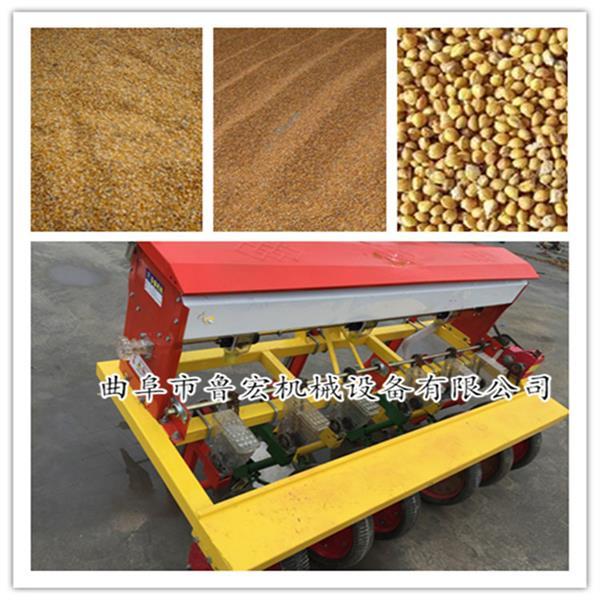 热卖蔬菜种子施肥精播机 四行玉米单粒播种机